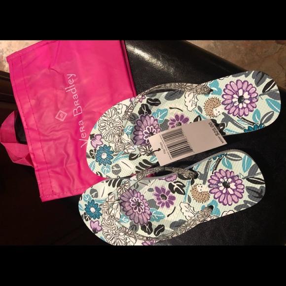 Vera Bradley Shoes - Nwt Vera Bradley flip flops size M